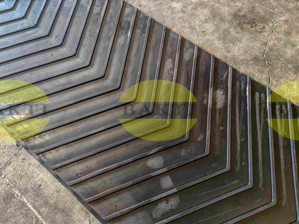 Patterned Belt Conveyor Jenis Sersan