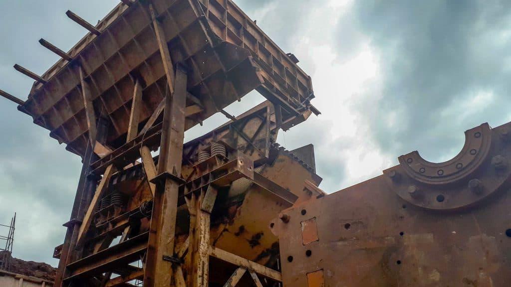 Jasa Fabrikasi Crusher Plant
