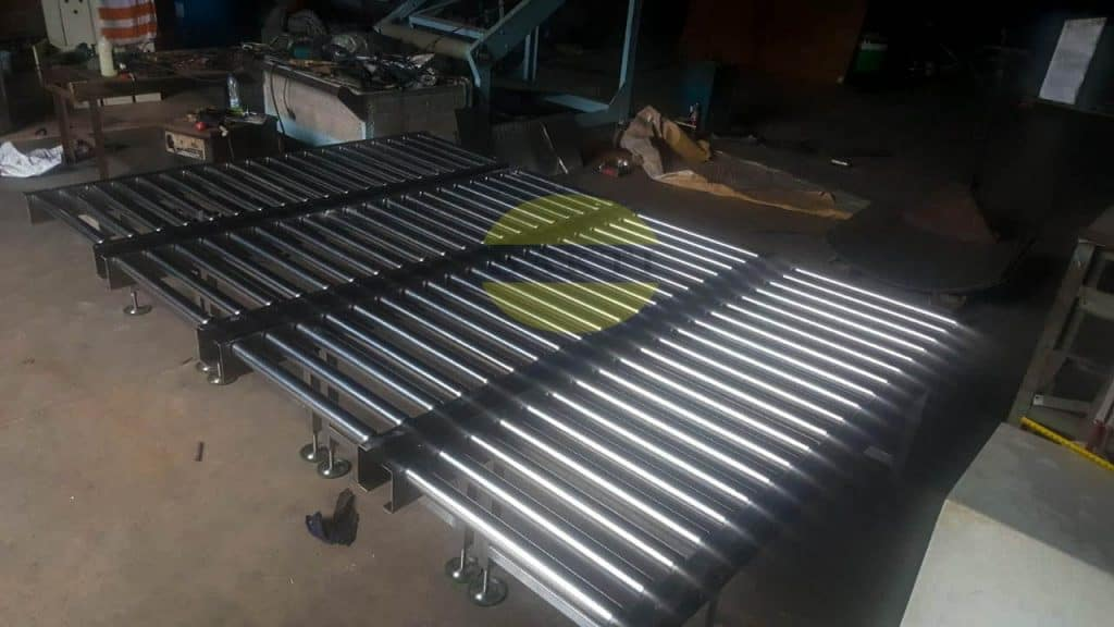 Double Row Roller Conveyor