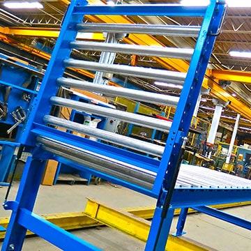 Hinged Roller Conveyor