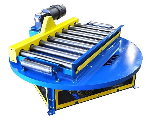 Turntable Roller Conveyor