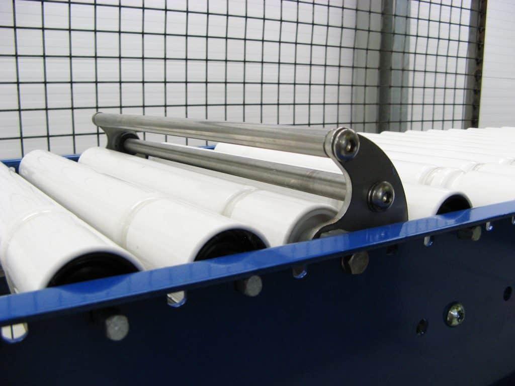 Alat Tambahan Stopper Roller Conveyor