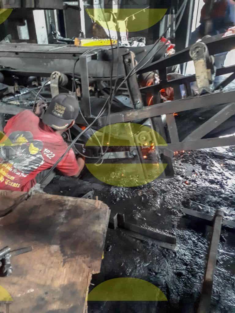 Jasa Pembuatan Fabrikasi Belt Conveyor