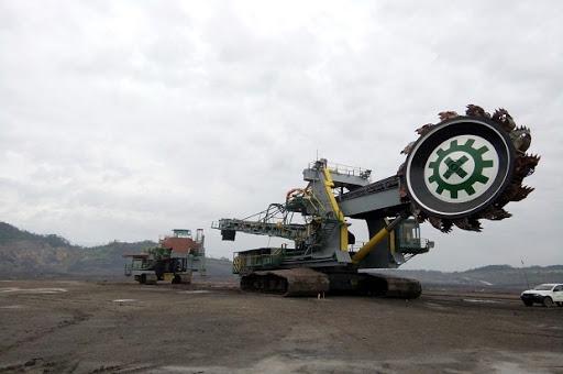 Alat Berat Bucket Wheel Excavator