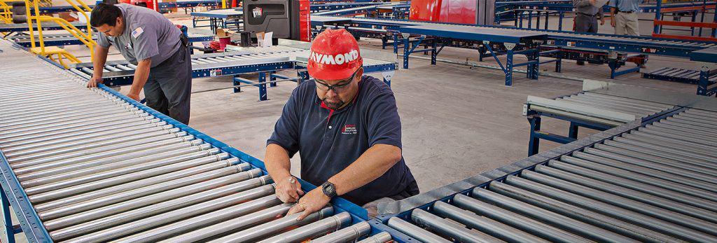 Inspeksi Perawatan Gravity Roller Conveyor