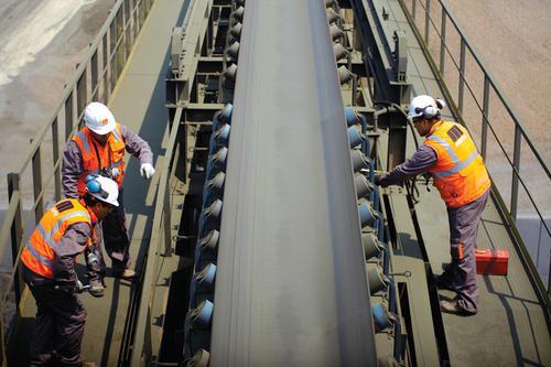 Pengecekan Kondisi Belt Conveyor