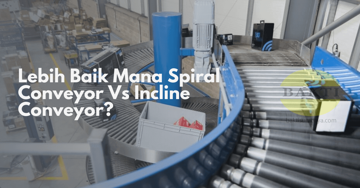 Lebih Baik Mana Spiral Conveyor Vs Incline Conveyor Cover