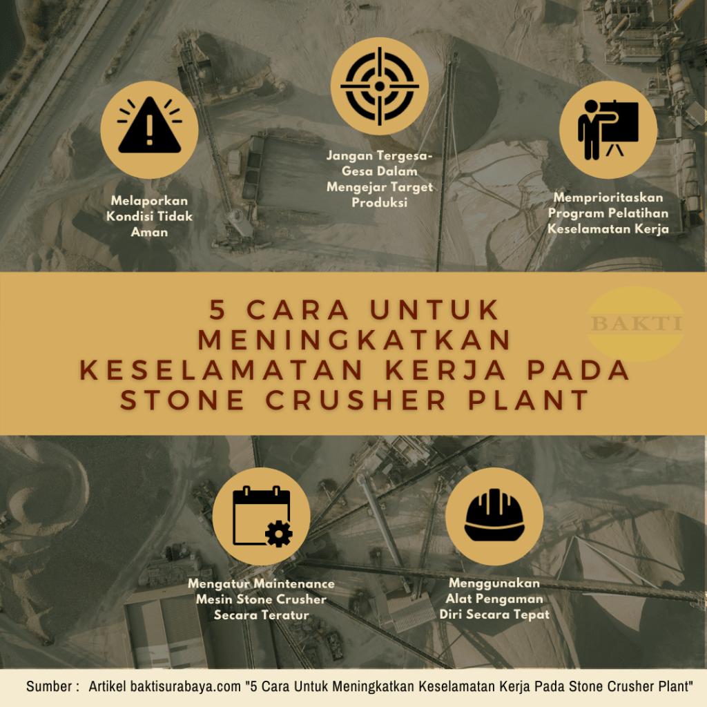 5 Cara Untuk Meningkatkan Keselamatan Kerja Pada Stone Crusher Plant