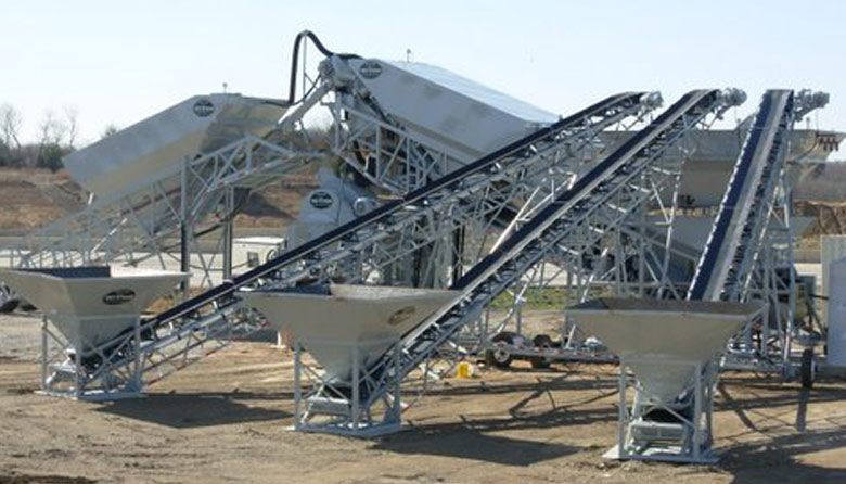 Mobile Stacking Conveyor
