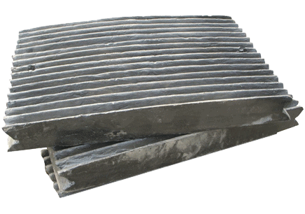 Fixed Jaw Plate Mesin Jaw Crusher