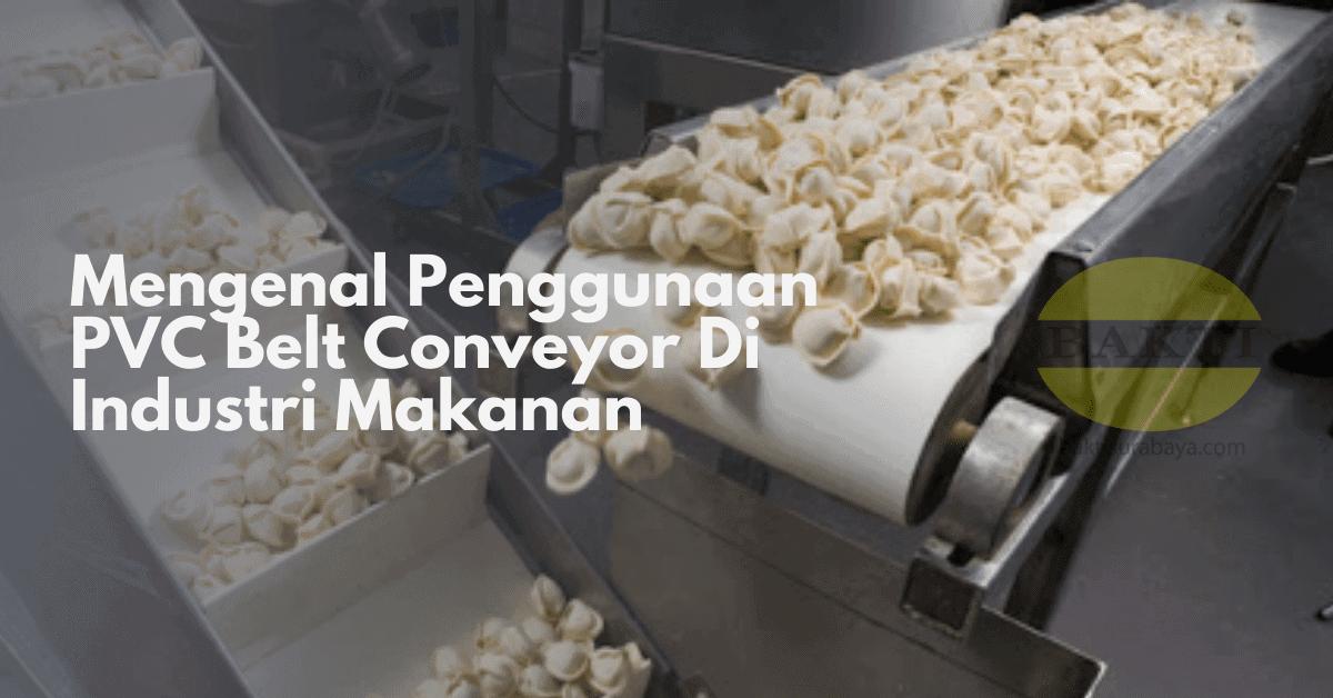 Mengenal Penggunaan PVC Belt Conveyor Di Industri Makanan Cover
