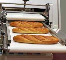 PVC Belt Conveyor Industri Roti Dan Kue