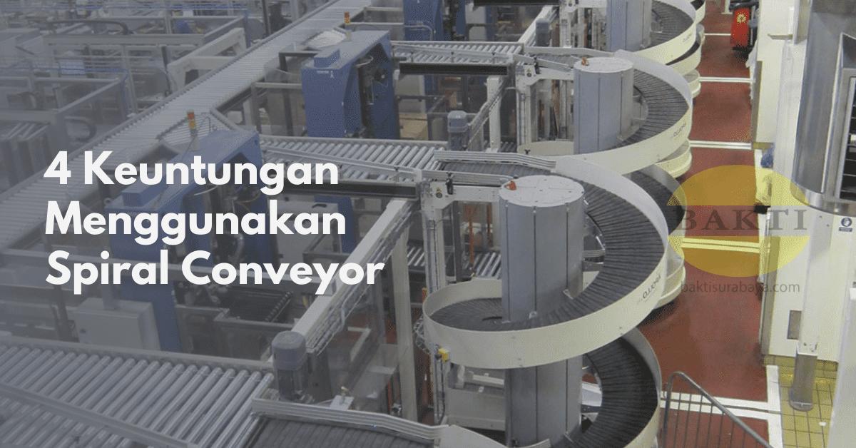 4 Keuntungan Menggunakan Spiral Conveyor Cover