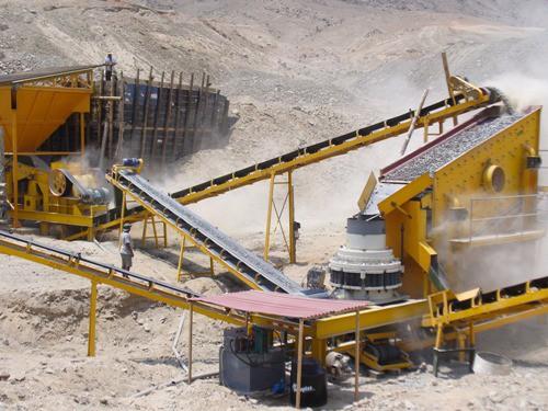 Menganalisis Proses Stone Crusher Plant