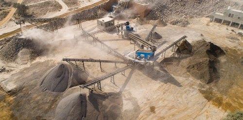 Kualitas Hasil Material Stone Crusher Plant